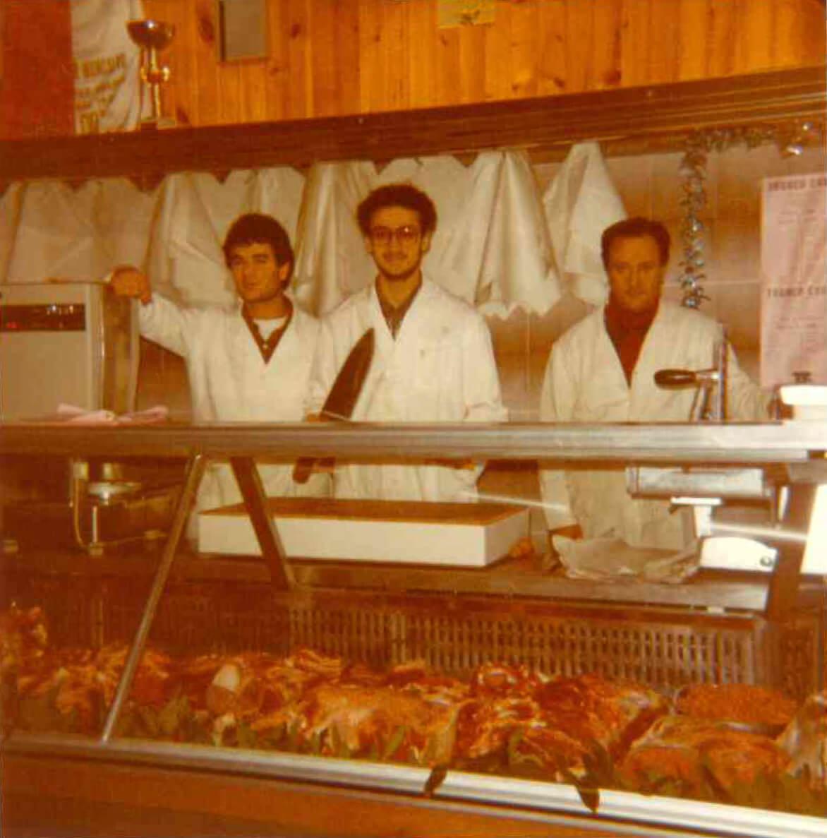 foto storiche italcarni famiglia bova
