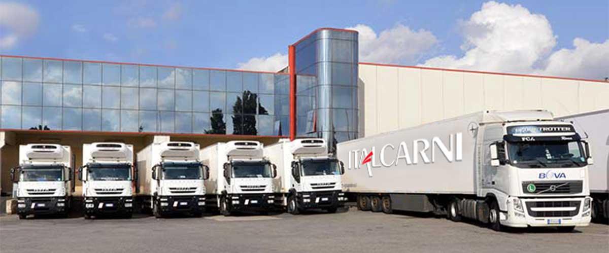 trasporto e logistica italcarni